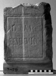 Tombstone of Restitutus, 2nd-3rd century AD, Ashmolean Museum ANChandler.3.79