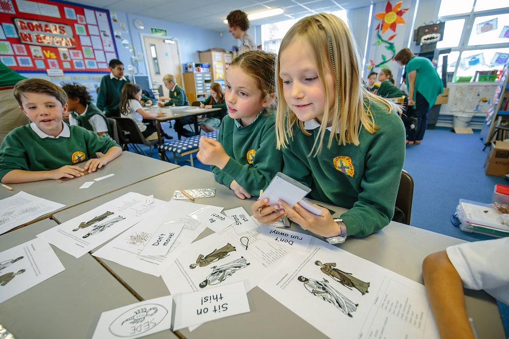 Ashmolean Primary workshop