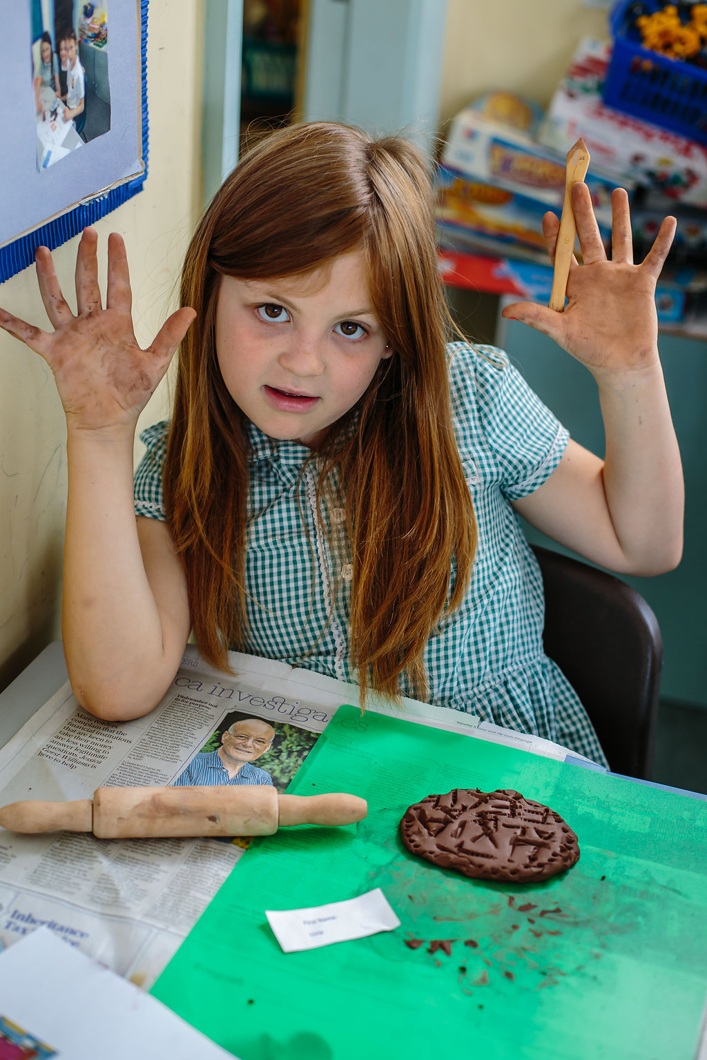 Ashmolean Primary workshop