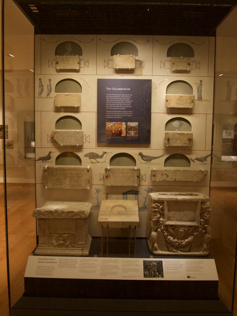 Columbarium display