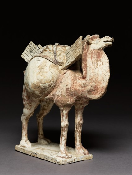 Earthenware figure of a camel