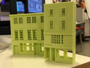 3D printed buildings