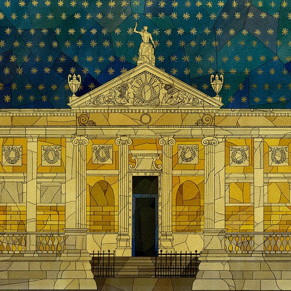 The Ashmolean Museum by Kate Baylay